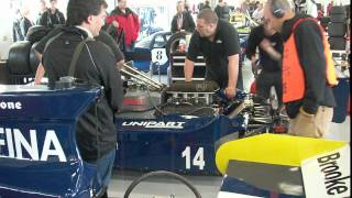 Cosworth DFV warm up