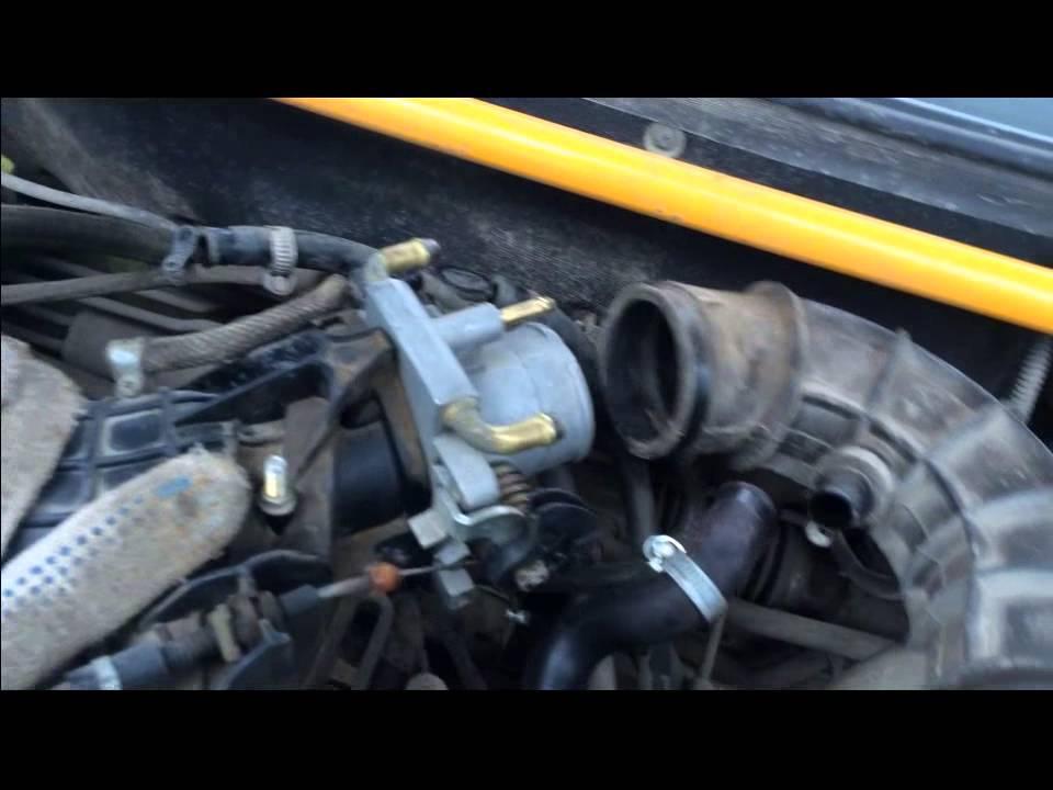Фото №3 - дроссельный узел ВАЗ 2110 8 клапанов