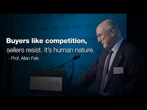 Competition policy review - Prof. Allan Fels AO