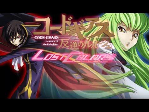 [Direct-Play] Code Geass ~Hangyaku no Lelouch~ Lost Colors [PSP]