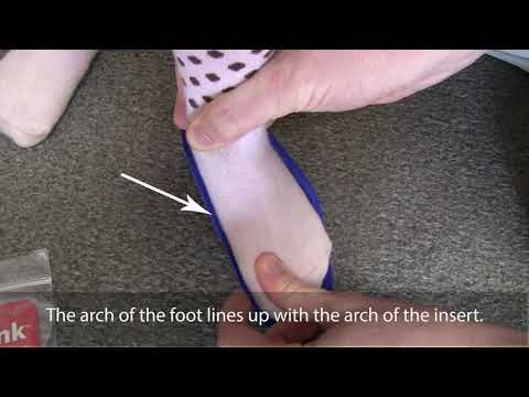 How to | Determine proper fit: Fast Fit shoe inserts