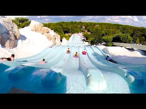 [HD] Toboggan Racers at Blizzard Beach Water Park (Orlando, FL)