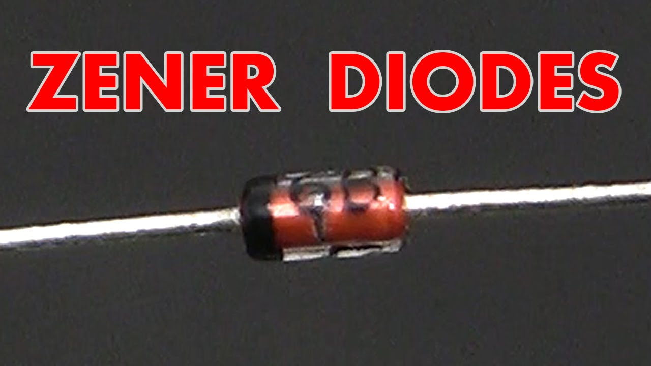 What Is A Zener Diode Youtube Electrical Symbol Typically Used For Schottky