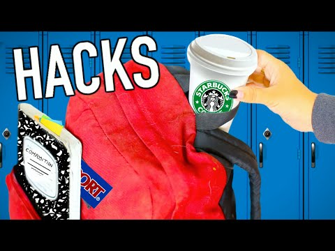 Back to School - Weird Back To School Life Hacks EVERY Student Should Know!