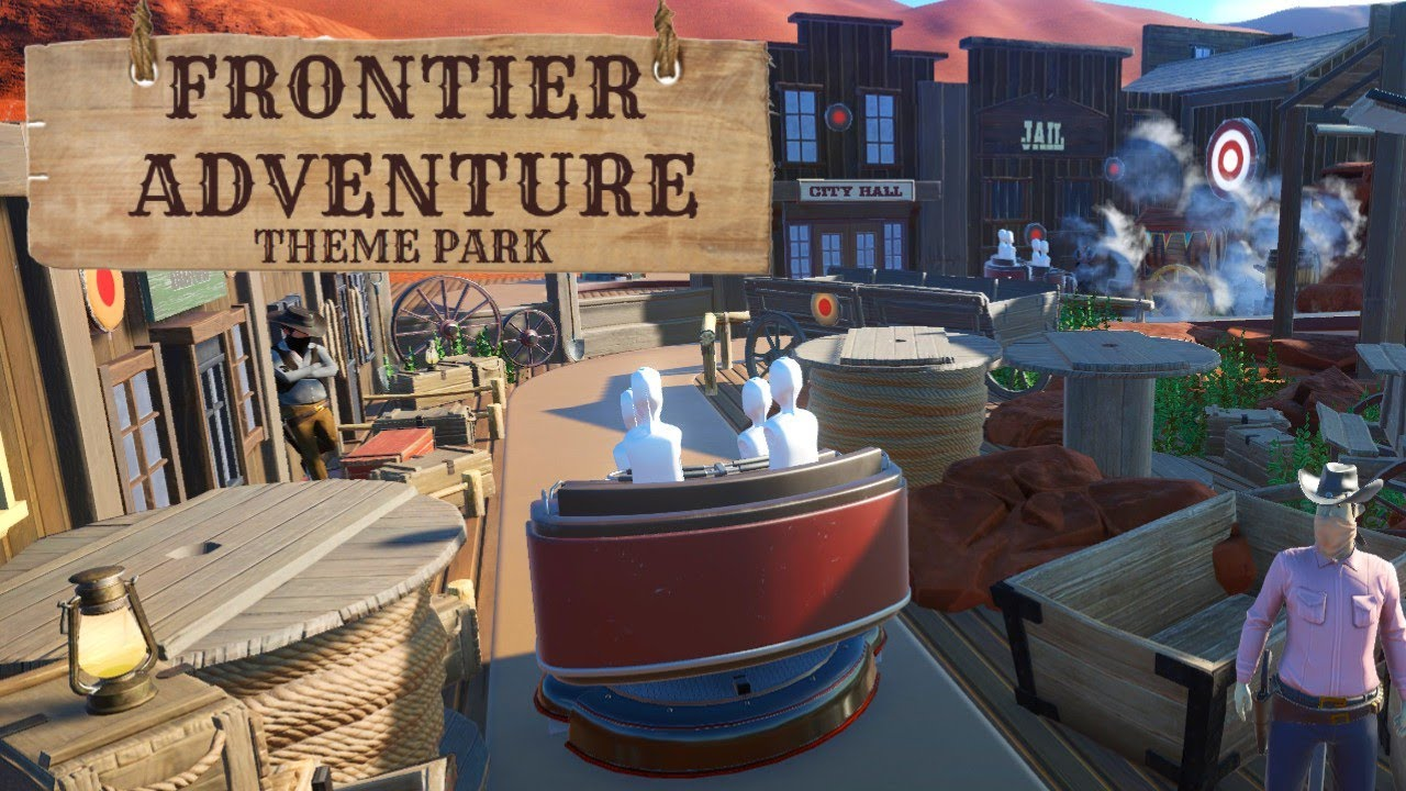 Let's Play Planet Coaster - Frontier Adventure Episode 8