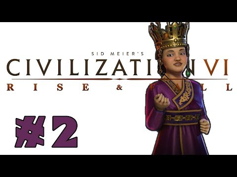 Civilization VI: Rise and Fall! -- KOREA -- Part 2