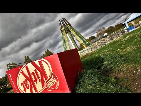 AMAZING ABANDONED THEME PARK WITH RIDES STILL COMPLETE! UK