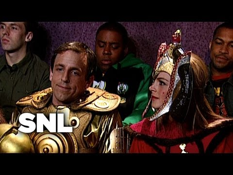 Overdressed for the Theatre - SNL