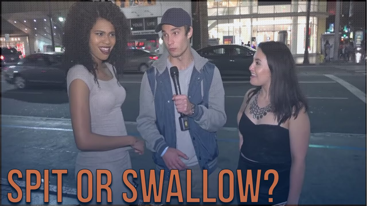 What men think about girls who swallow