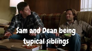 Sam and Dean being typical siblings for almost 6 minutes