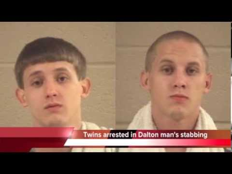 Twins arrested in Dalton Ga. stabbing