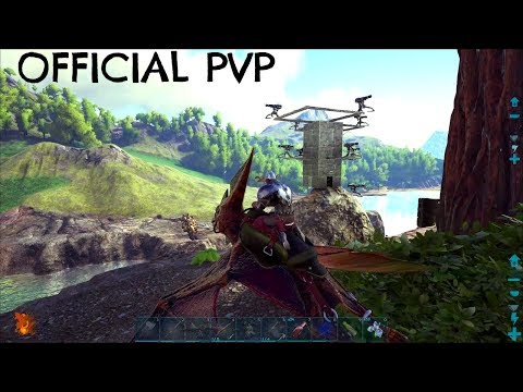 TURRET TOWER BUILDS w/ Organic Polymer - Official PVP (E131) - ARK Survival