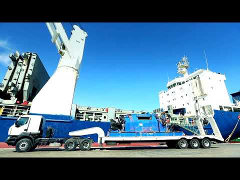 KCA Rig T 72 Exported by HudHud Worldwide Logistics Libya