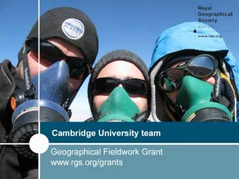 Geographical Fieldwork Grant recipients talk about their volcanology fieldwork in Chile