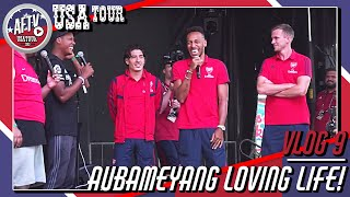 Aubameyang Loving Life In The South!   | AFTV Vlog In The USA Day 9