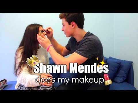 Shawn Mendes Does My Makeup CHALLENGE + responding to Justin's shady comment? | 730.no