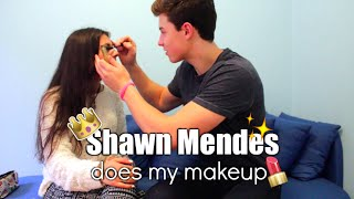 Shawn Mendes Does My Makeup CHALLENGE + responding to Justin's shady comment? | 730.no thumbnail