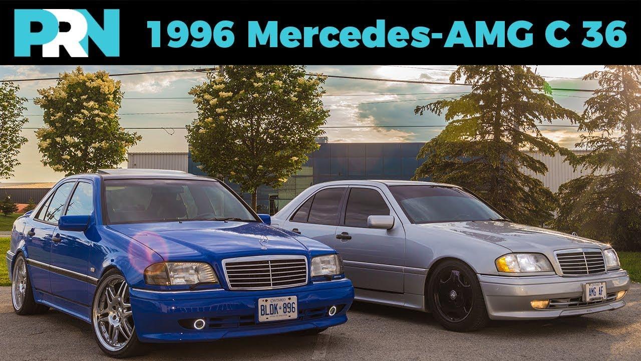 1996 mercedes benz c 36 amg testdrive spotlight [ 1280 x 720 Pixel ]