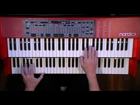 Green Onions (Booker T. and The MG's) - Organ Cover - Nord C1 Hammond B-3 Clone Clavia