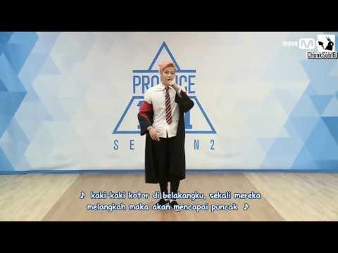 [INDO SUB] PRODUCE 101 SEASON 2    Kang Daniel    Perkenalan Ep.0