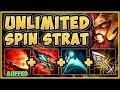 WTF! UNLOCK UNLIMITED SPINS WITH NEW TRYND BUFFS? TRYNDAMERE SEASON 9 TOP GAMEPLAY League of Legends