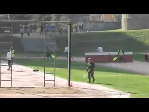 טוב, זה הדבר הכי מטורף שראינו.  בוחן מסלול בצבא צ'ילה
