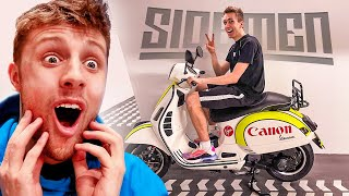 I GOT W2S PRESENTS FROM THE SIDEMEN SUNDAY