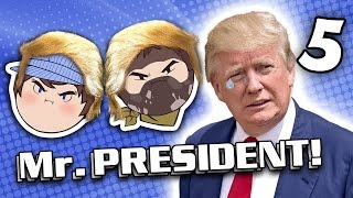 Mr. President: High and Mighty - PART 5 - Steam Train