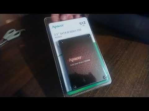 """Apacer AS350X 512GB 2.5"""" SATAIII 3D NAND (AP512GAS350XR-1)"""
