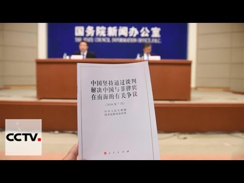 China releases white paper, reiterating to settle disputes via negotiation
