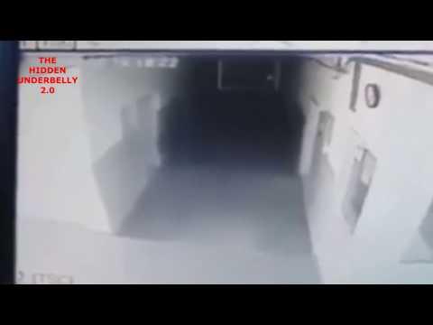 nouvel ordre mondial | Un fantôme filmé dans un commissariat de police