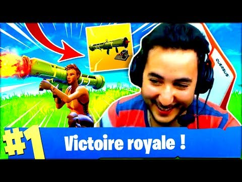 TOP1 AU LANCE MISSILES EN SOLO ?! ► FORTNITE