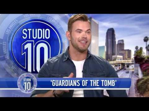 Kellan Lutz Tells How He Met His Wife & Talks 'Guardians Of The Tomb'  Studio 10