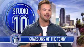 Kellan Lutz Tells How He Met His Wife & Talks 'Guardians Of The Tomb' | Studio 10
