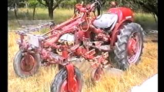 Old Tractor I Saw in New Zealand.1998.