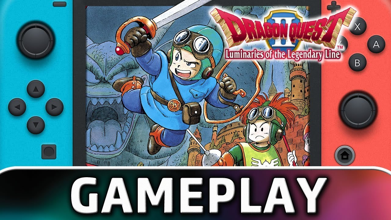 DRAGON QUEST II: Luminaries of the Legendary Line | First 10 Minutes on Nintendo Switch