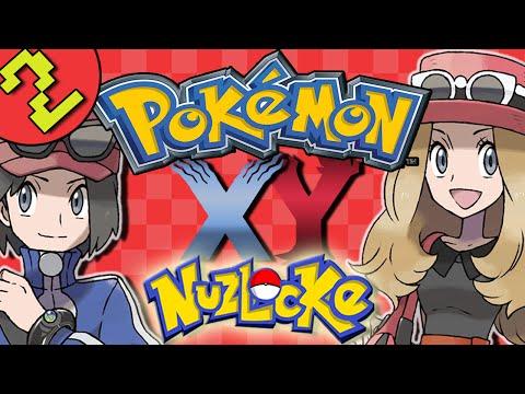 Let's Play Pokemon X And Y Nuzlocke   Pokemon XY Gameplay   Part 2 - Santalune Forest