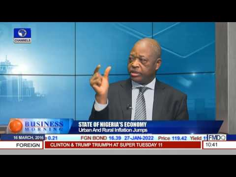 Business Morning: Focus On The State Of Nigeria's Economy