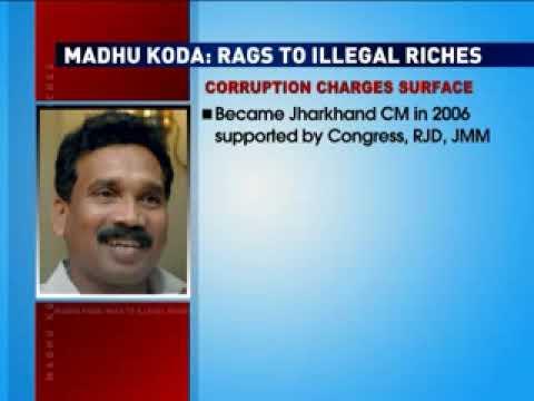 Madhu Koda: Rags to illegal riches