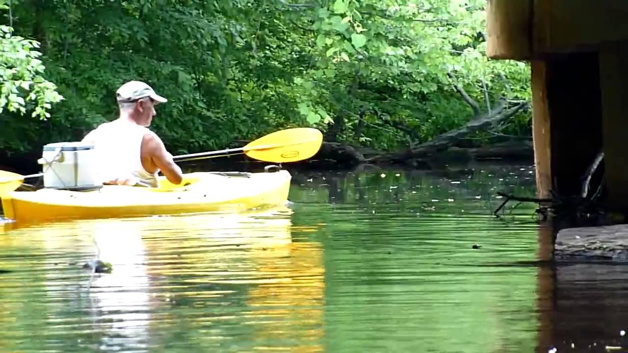 Kayaking in Rancocas Creek, Part 2