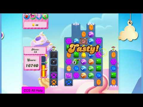 Candy Crush Saga Level 2834 NO BOOSTERS Cookie