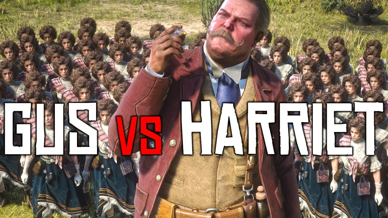 Red Dead Online: Can 100 Harriet's Beat 1 GIANT Gus?
