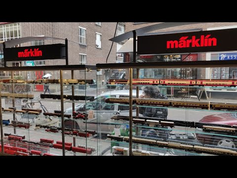 Train Model Store in Europe‼️Märklin Roco Piko.. Diorama's .. A collectors paradise 👌🏻🤩