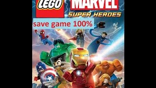 lego marvel super heroes (pc) save game 100% (link updated)