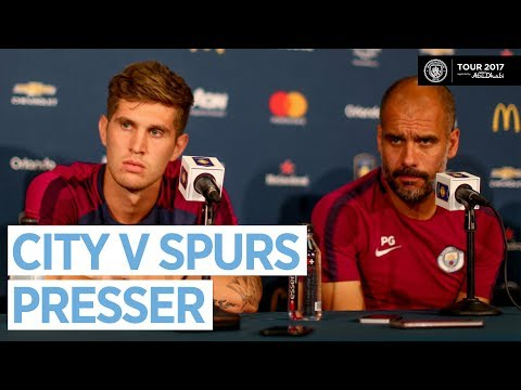MAN CITY VS TOTTENHAM HOTSPUR | Pep Press Conference