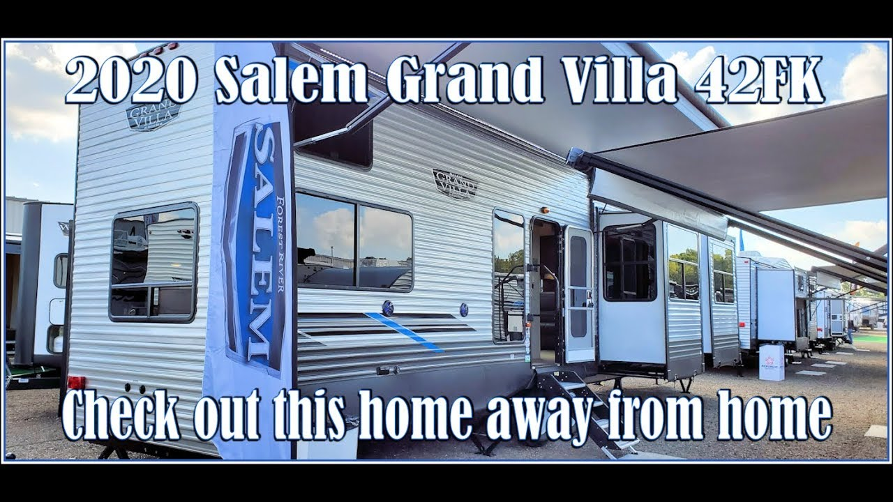 Double Loft Front Kitchen 2020 Salem Grand Villa 42fk Or