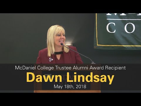 McDaniel College Trustee Alumni Award Recipient Dawn Lindsay | McDaniel College