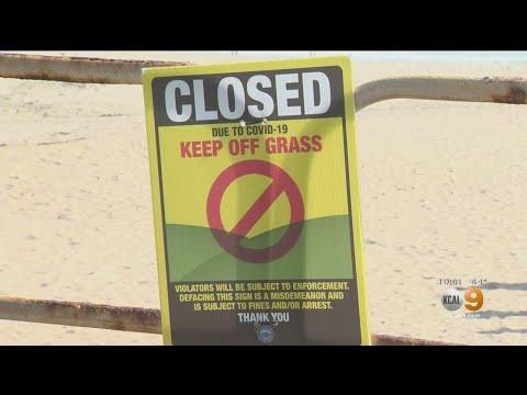 OC City Councils Vote To Challenge Gov. Newsom's Order To Close Orange County Beaches