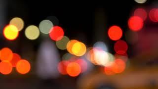 Blurry City Lights Loop | Free Stock Video | Full HD
