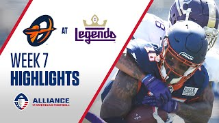 Orlando Apollos at Atlanta Legends l The Alliance Week 7 Highlights